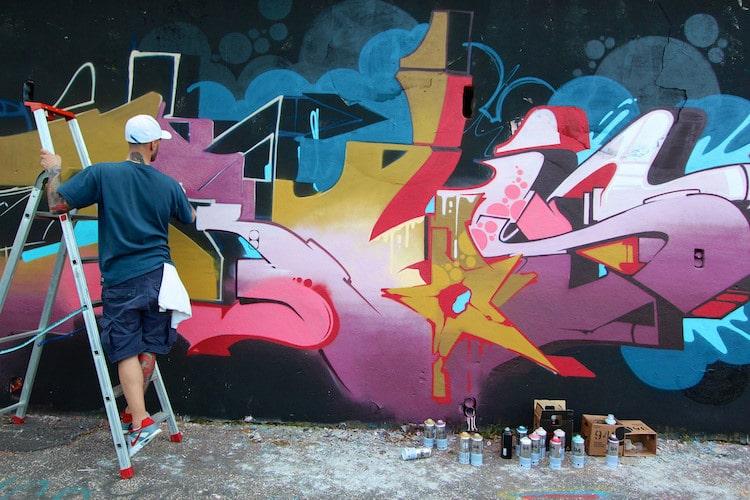 Spray Paint and Graffiti
