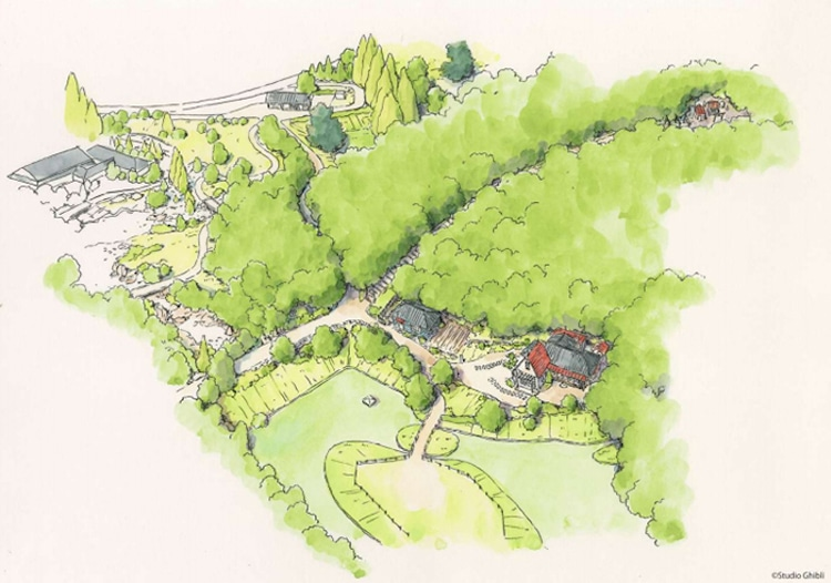 Studio Ghibli Theme Park Plans