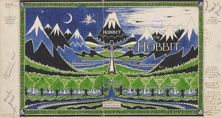 Tolkien Exhibit at the Morgan Library