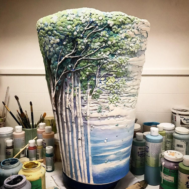 Tree Ceramics by Heesoo Lee