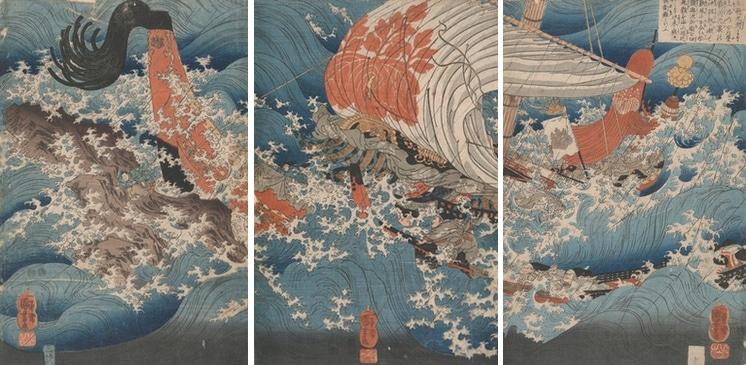 Colección de estampas japonesas de Vincent Van Gogh