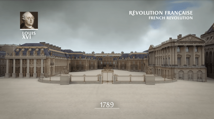 Versailles 3D Animation Versailles Construction Palace of Versailles Video Versailles Animation Versailles YouTube