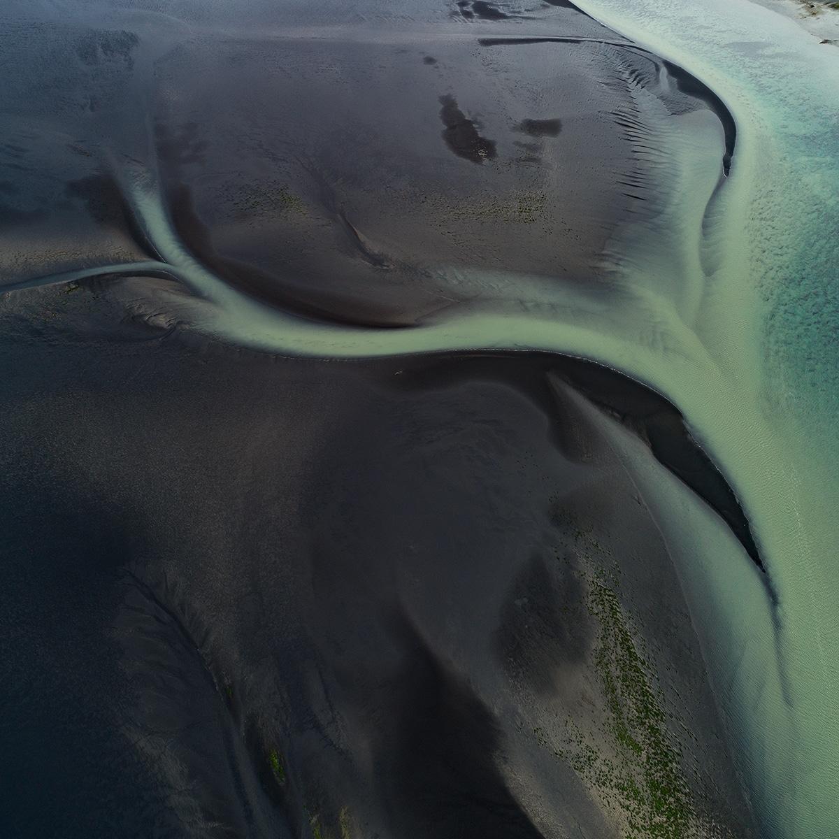 Aerial Photograph of an Estuary