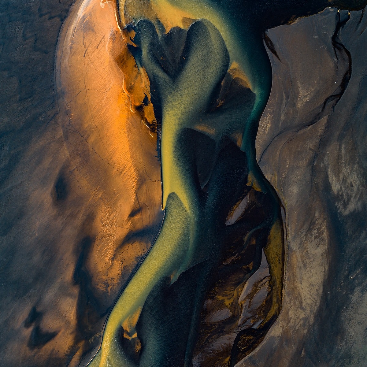 Water.Shapes.Earth Aerial Photography