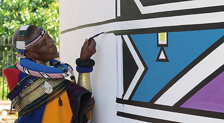 Ditema tsa Dinoko script from Sub-Saharan Africa.