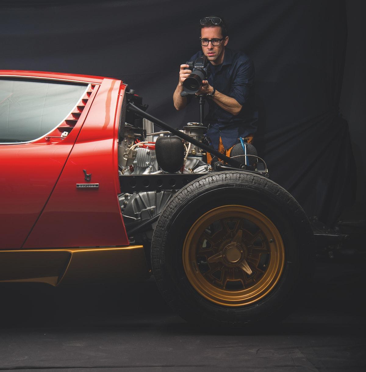 Disintegrating X - Lamborghini Miura by Fabian Oefner