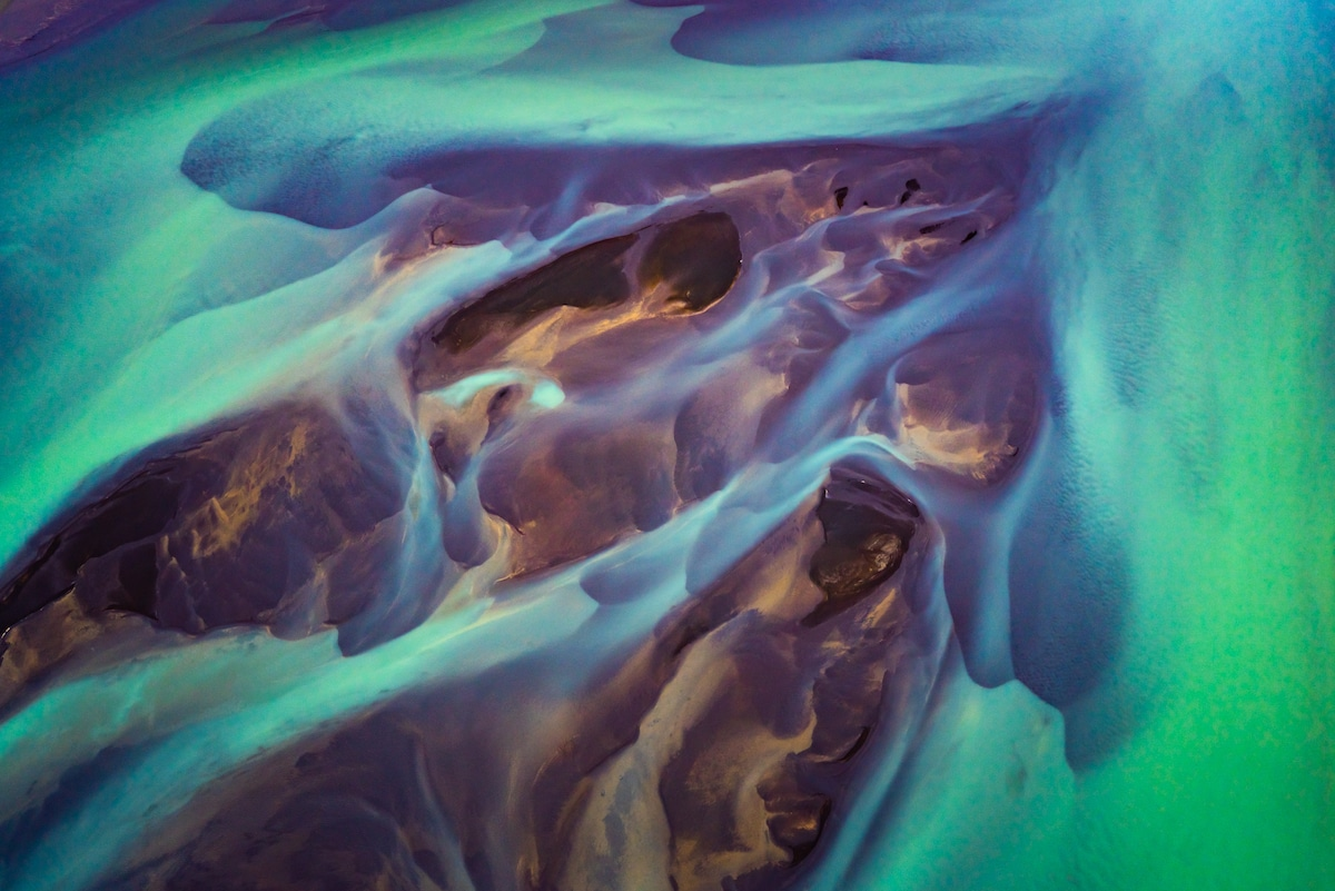 Aerial Landscape Photography in Iceland by Albert Dros