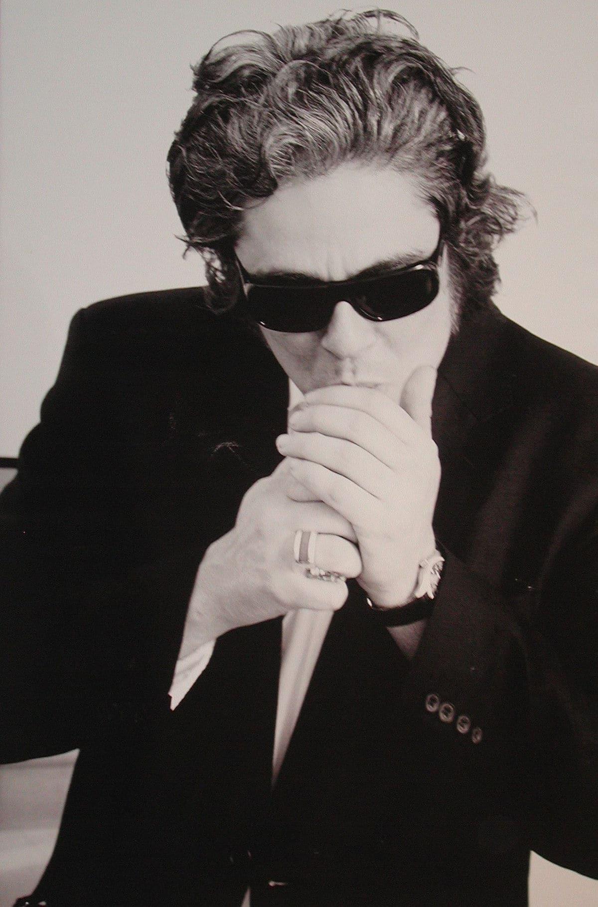 Karl Lagerfeld Photograph of Benicio del Toro