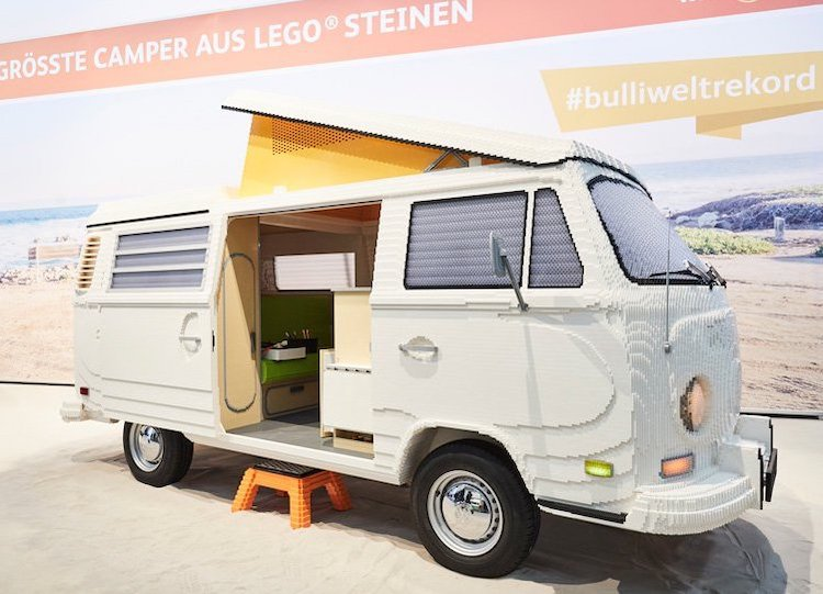Full-Size LEGO Volkswagen Camper
