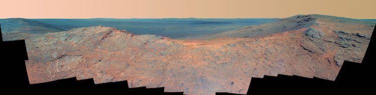 End of Opportunity Rover
