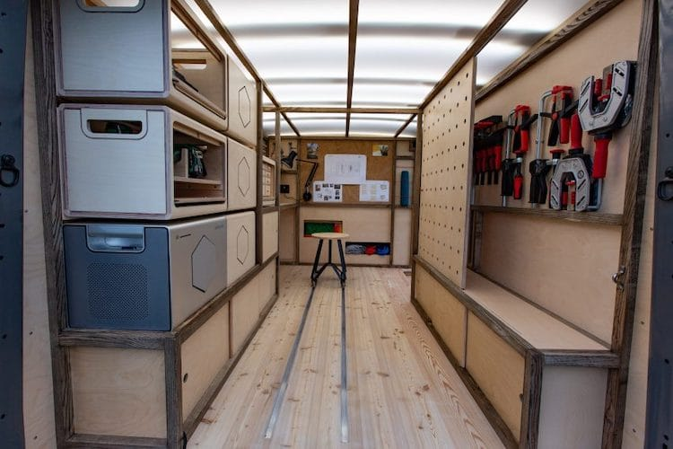 Nissan Van Conversion by Studio Hardie