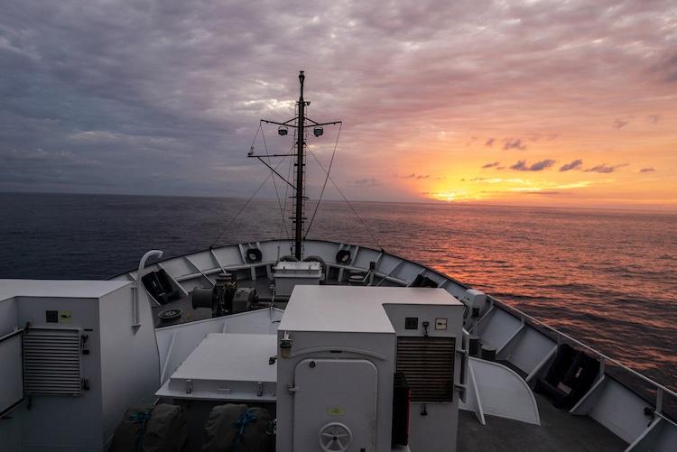 investigación de aguas profundas biología marina