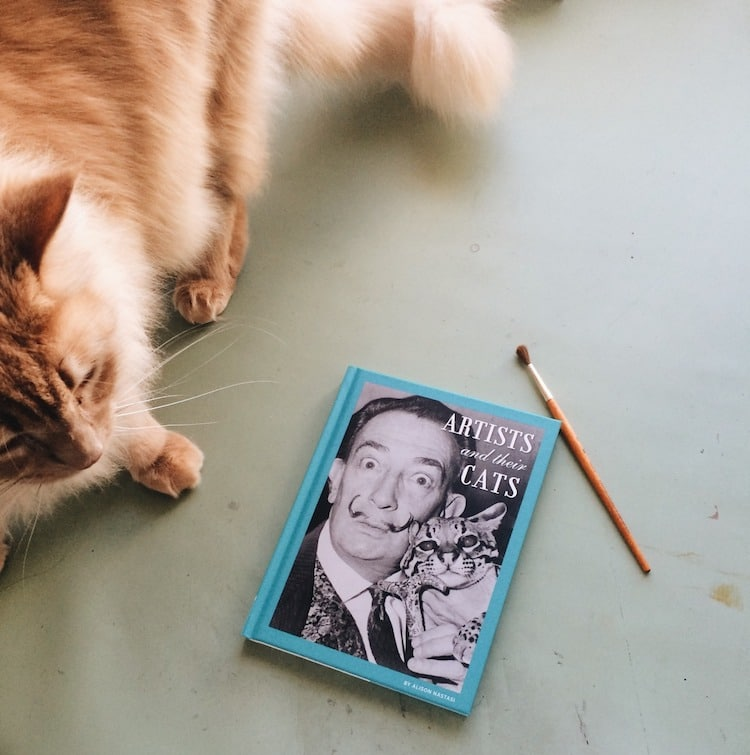 Famous Artists and Their Cats Artists' Cats Alison Nastasi