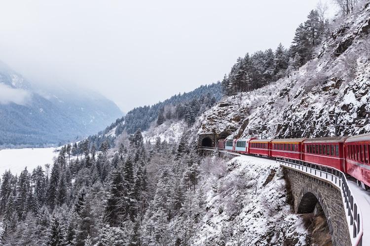 mejores viajes en tren trenes más bonitos de mundo tren suiza