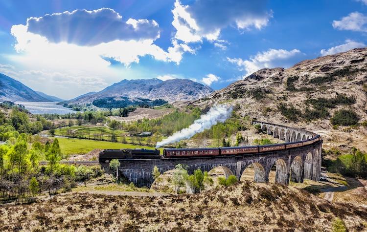 mejores viajes en tren escocia trenes más bonitos del mundo tren harry potter