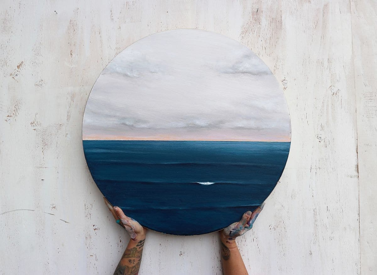 Pinturas del mar por Bree Brooks