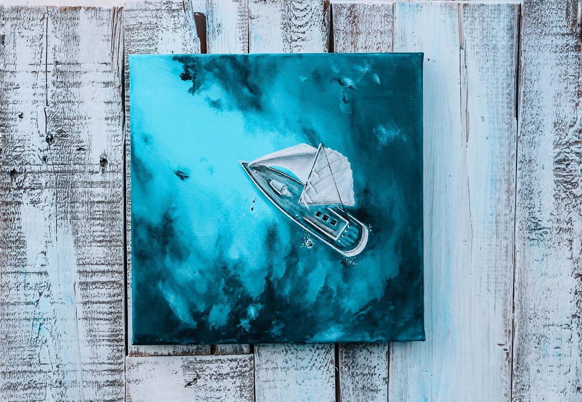 Ocean Paintings by Bree Brooks