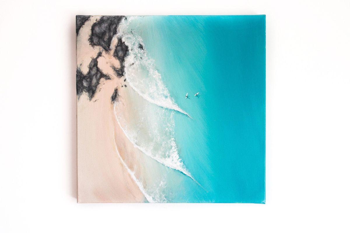Pinturas oceánicas por Bree Brooks