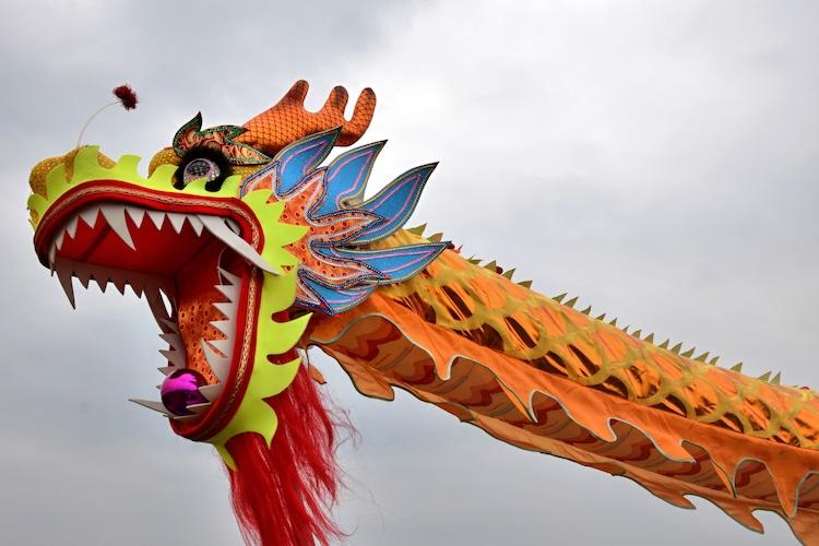 Chinese New Year Dragon Dance