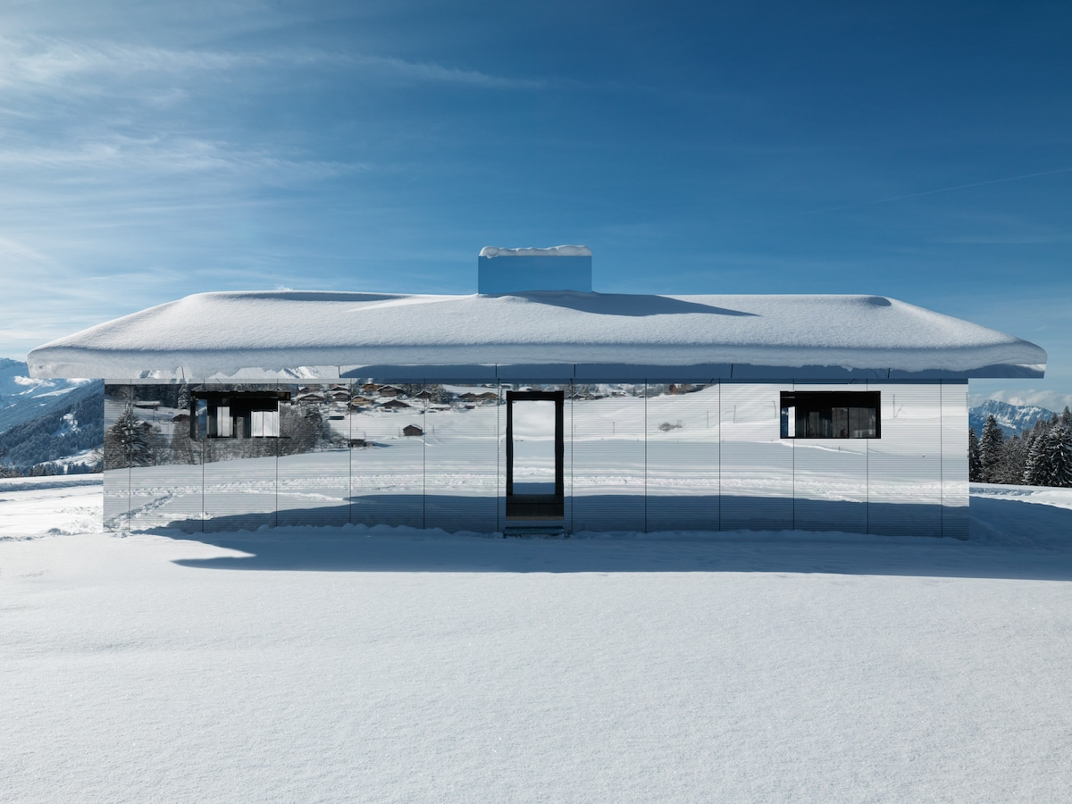 Mirror House by Doug Aitken