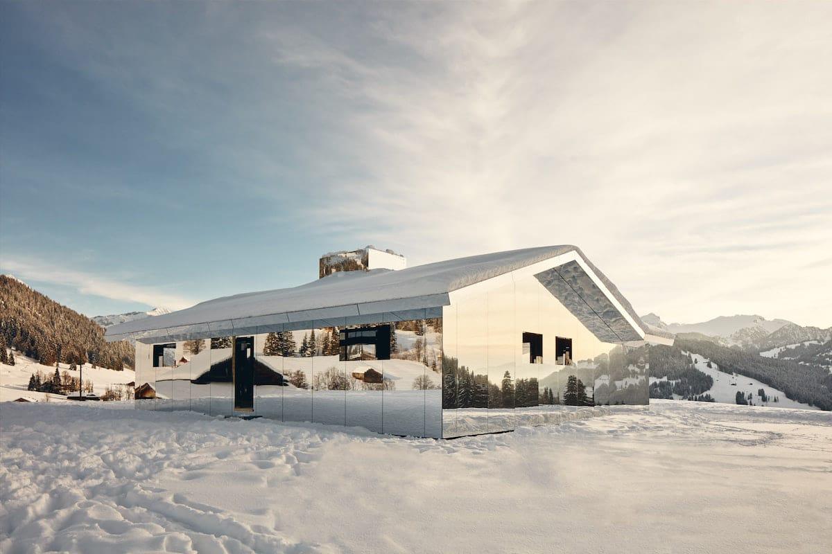 Casa de los espejos por Doug Aitken