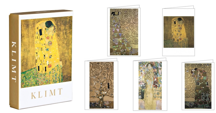 teNeues Gustav Klimt Notecards Art History Stationery Klimt Cards