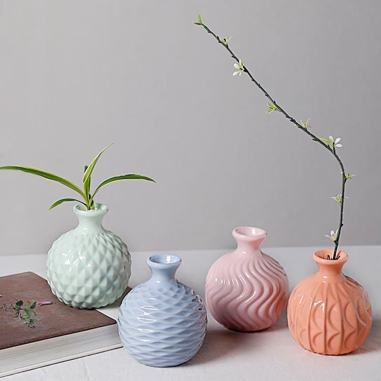 Modern Ikebana Vase