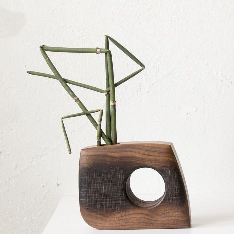 Contemporary Ikebana Vase