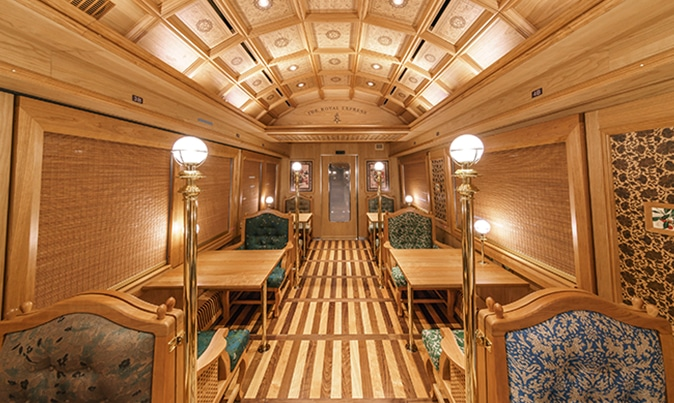 Royal Express Scenic Train in Japan