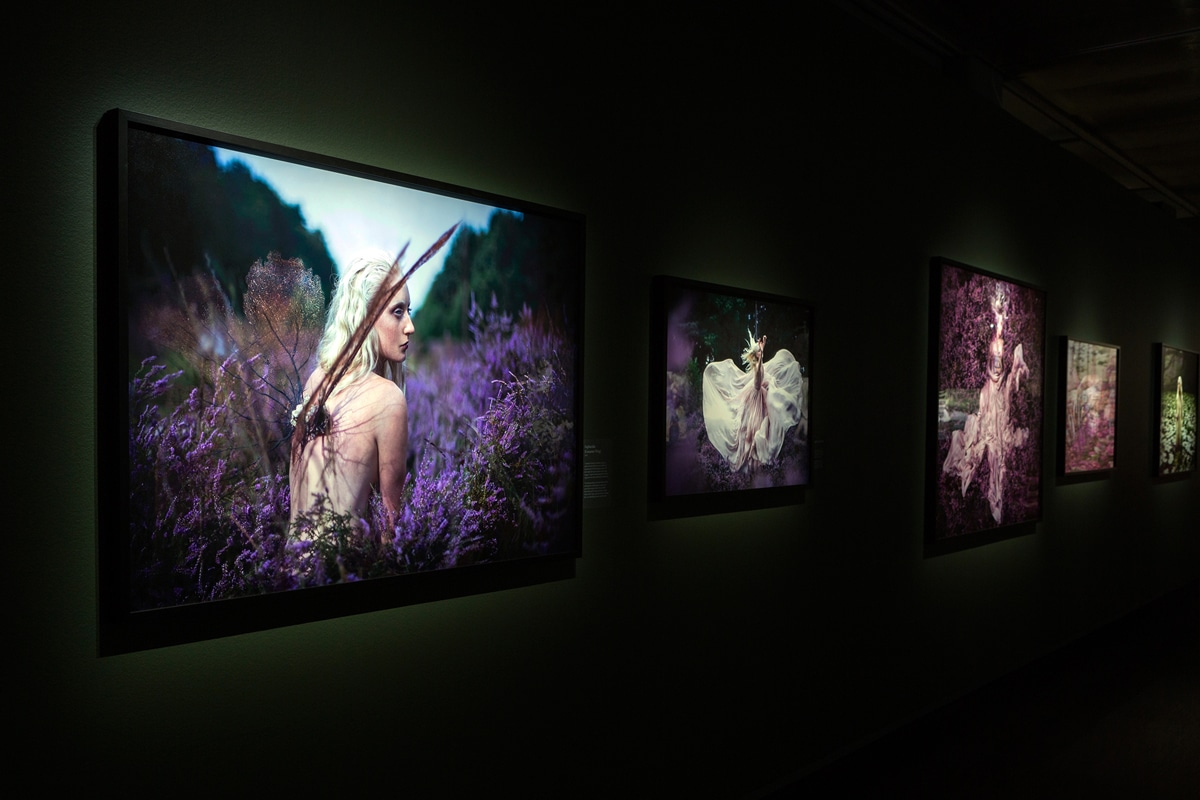 Exposición multisensorial Wonderland Kirsty Mitchell