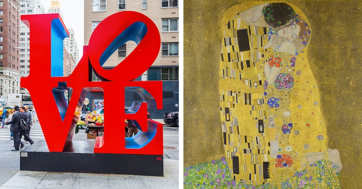 Love Art: Romantic Paintings and Sculptures From Art History