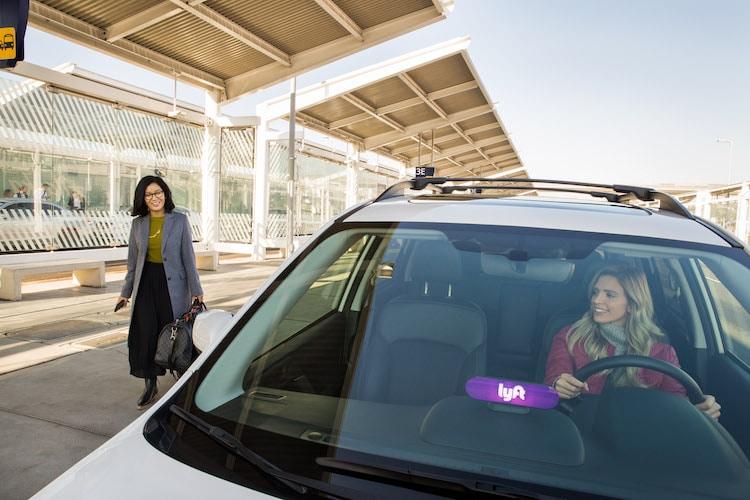 Lyft - Green Mode - Electric Car Request