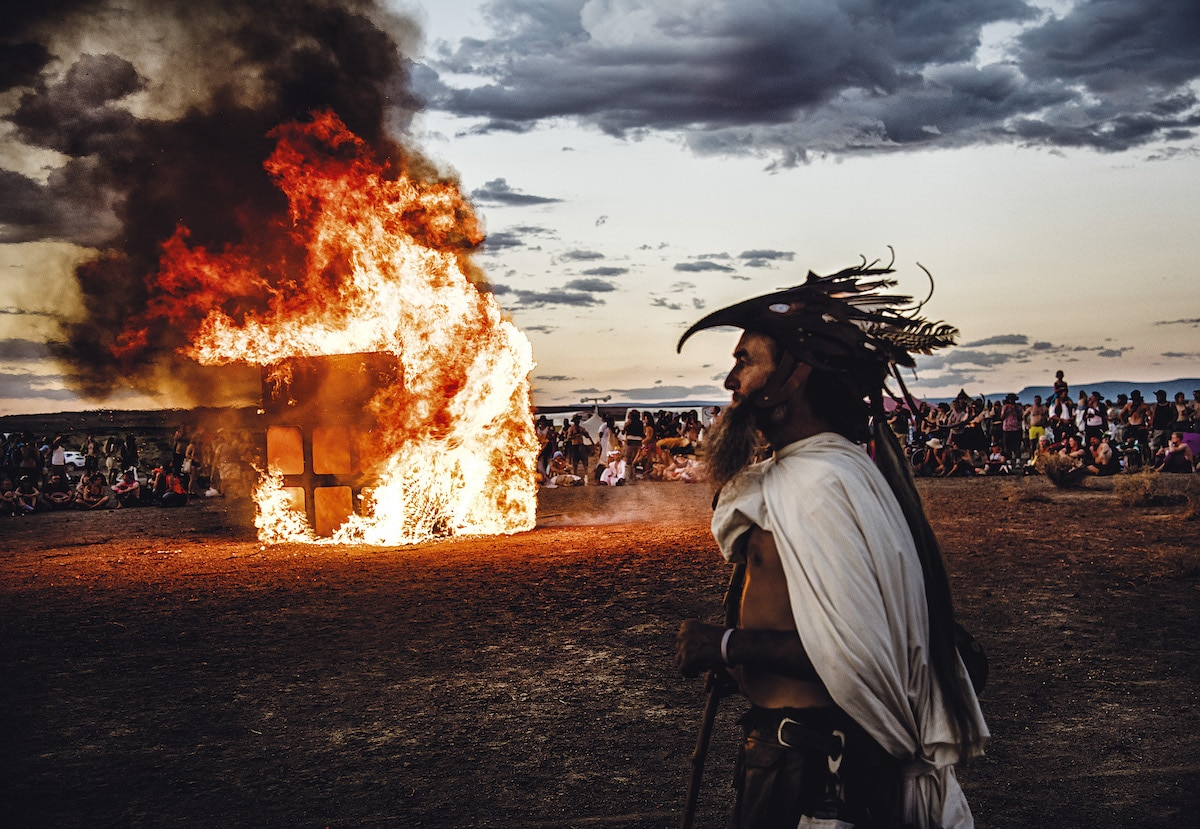 Photo of Afrikaburn by Marek Musil
