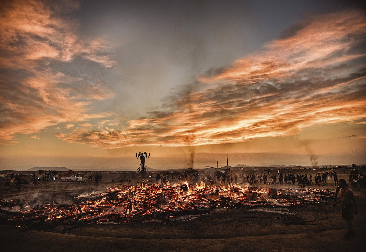 Fotos del festival Afrikaburn por Marek Musil
