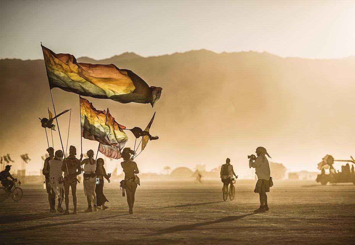 Festival Burning Man por Marek Musil