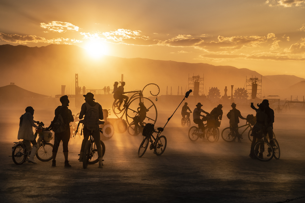 Photo of the Burning Man Festival by Marek Musil