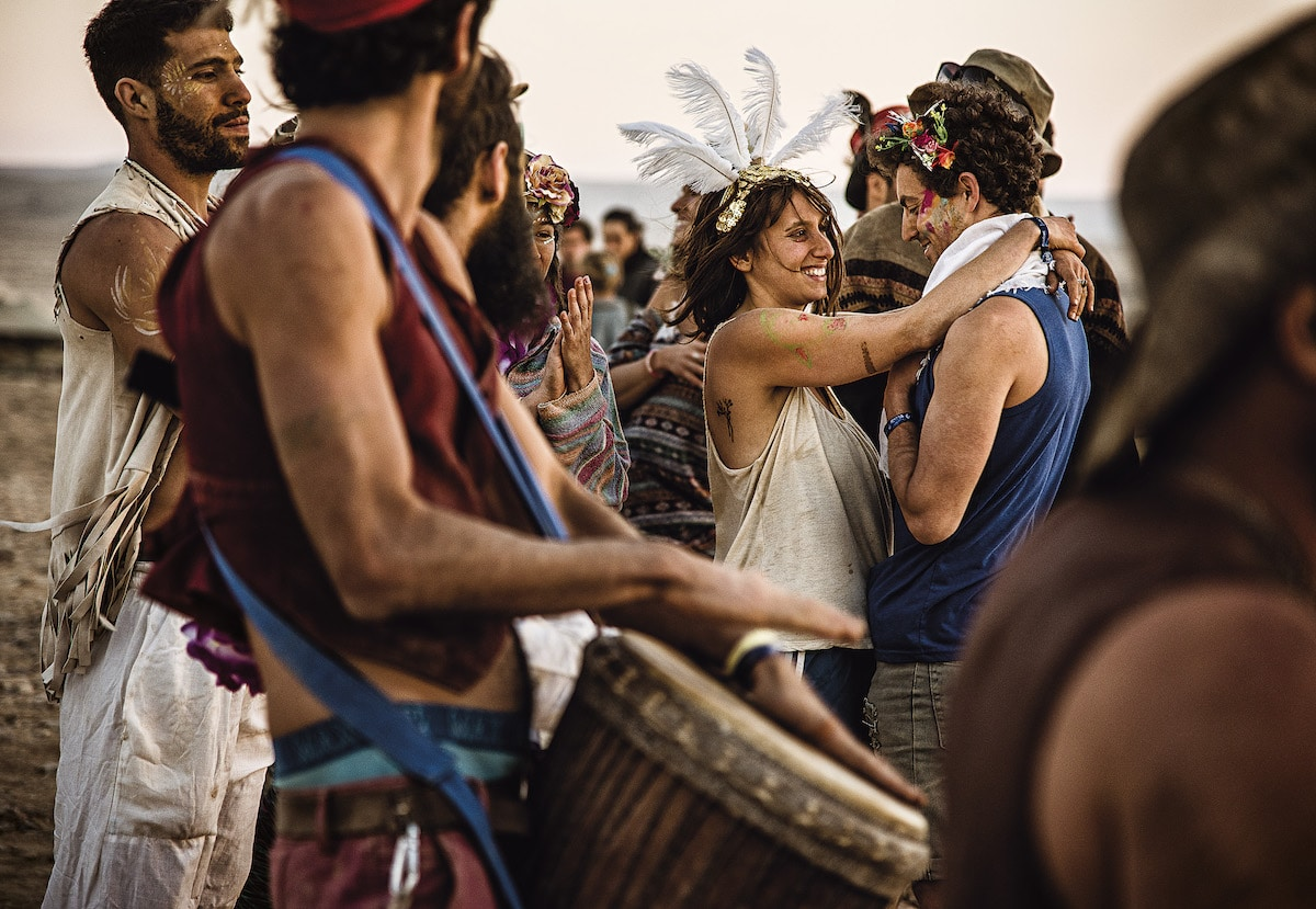 Photo of the Midburn Festival in Israel by Marek Musil