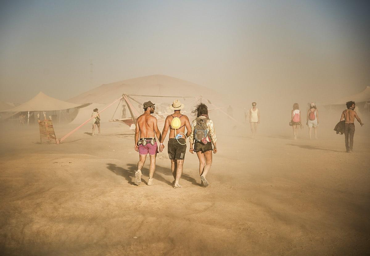 Fotos del festival Midburn en Israel por Marek Musil