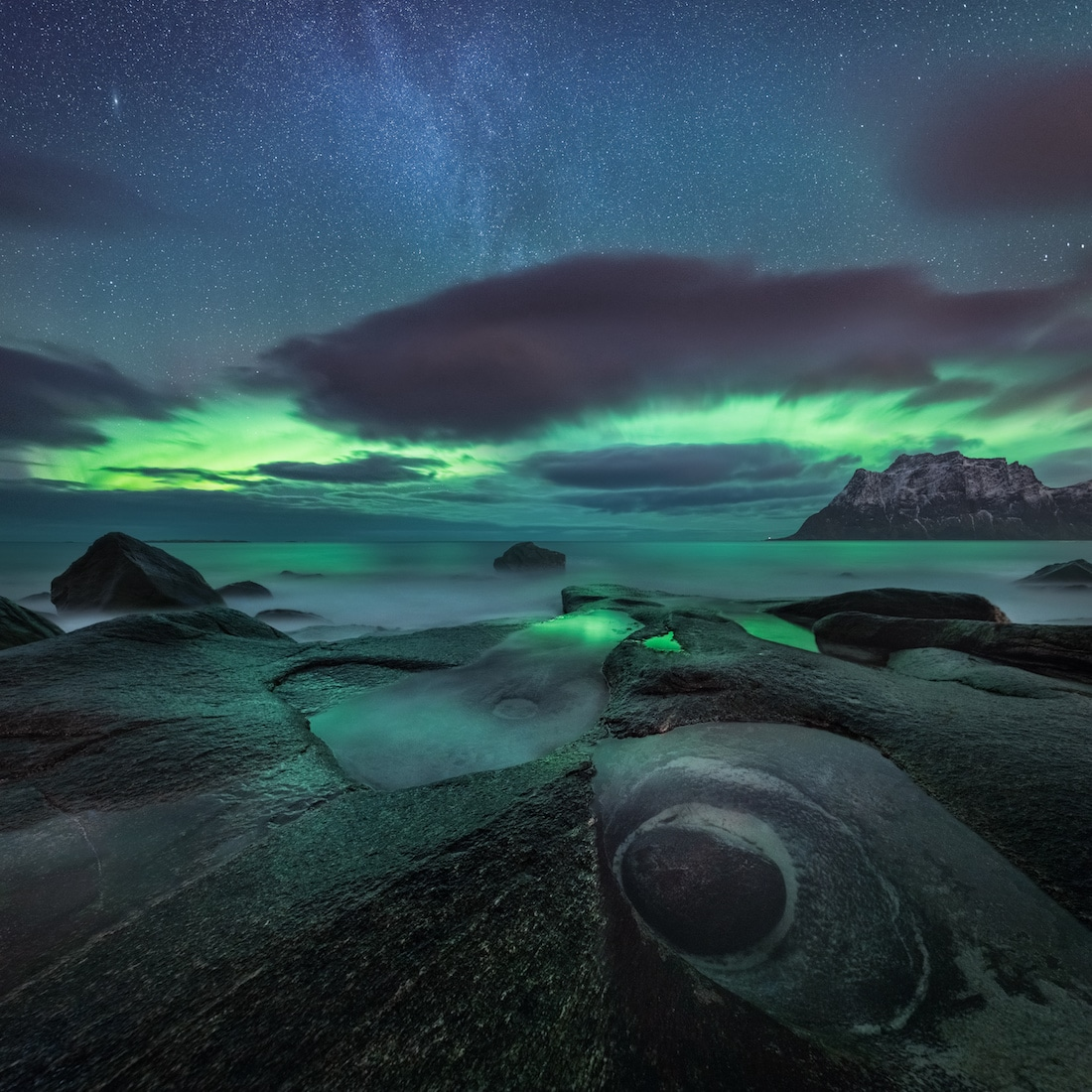 Photographer Captures Awe Inspiring Arctic Landscape