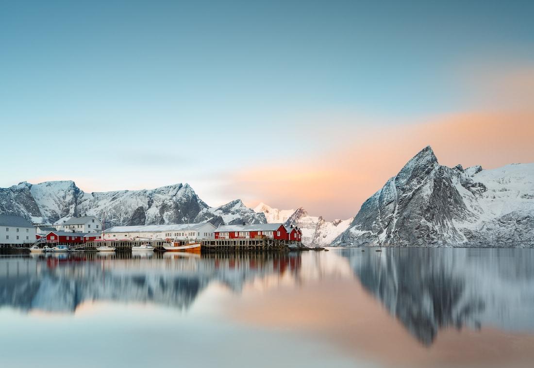 Arctic Landscape Photography Lofoten Photos Rafal Nebelski