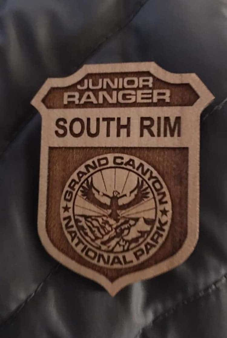 Rose Torphy Grand Canyon Junior Ranger