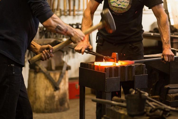 trabajo con metales