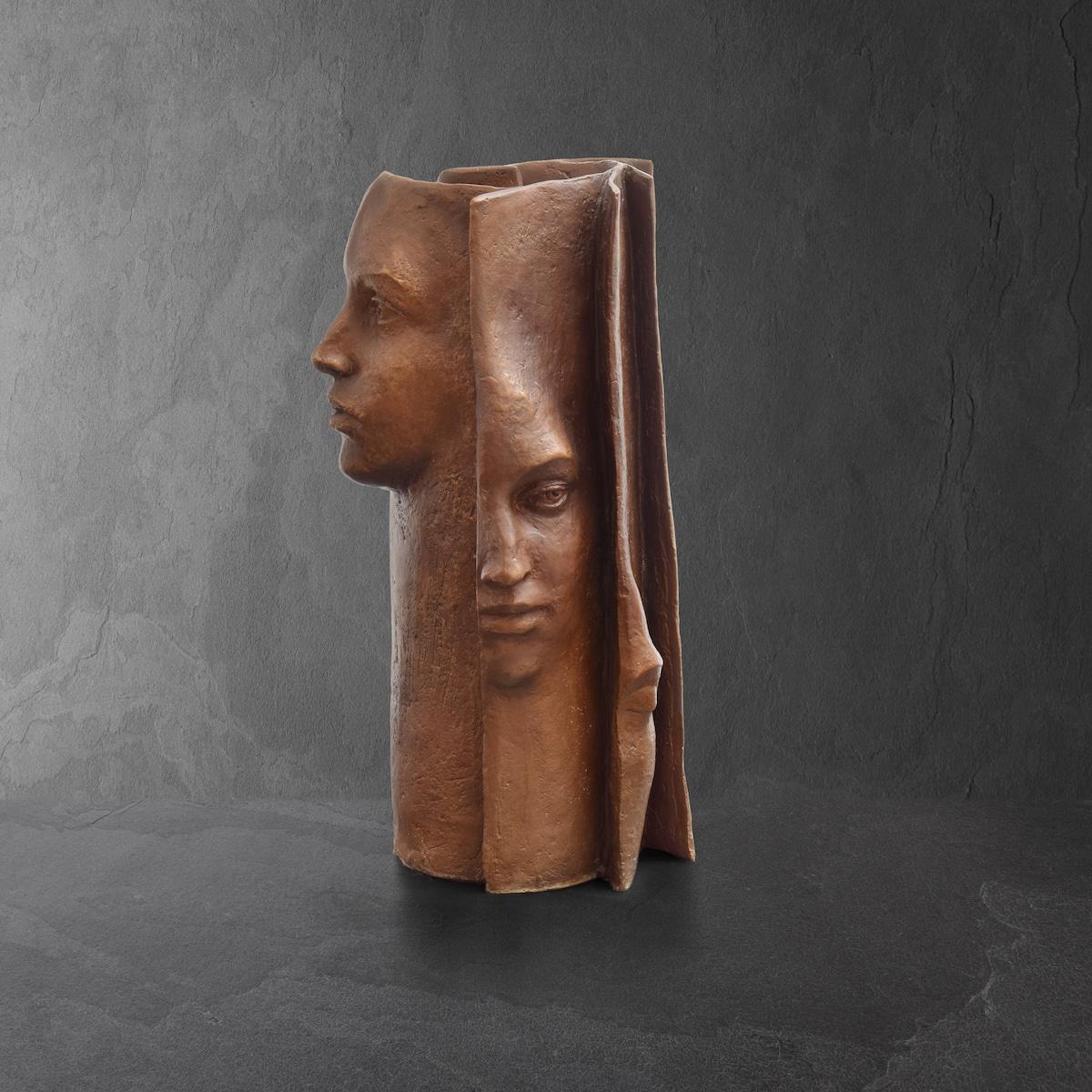 Paola Grizi escultura en bronce