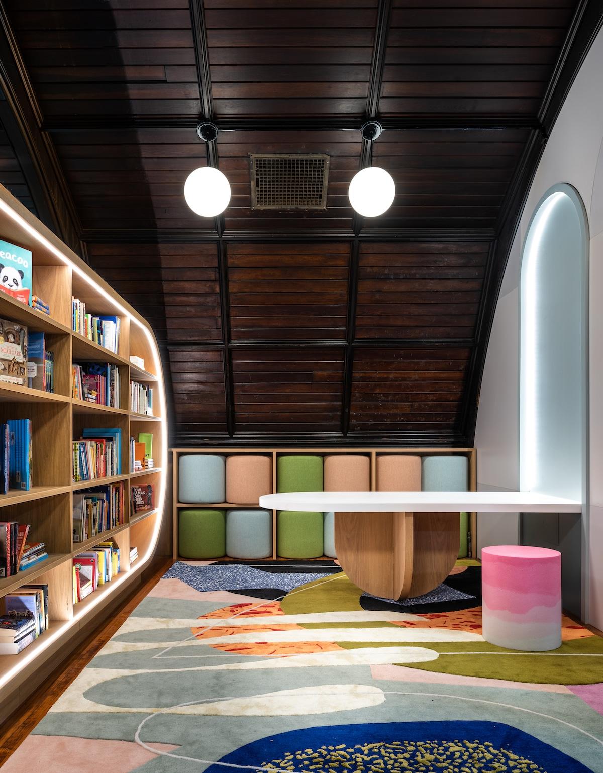 MKCA - Biblioteca para niños Concourse House