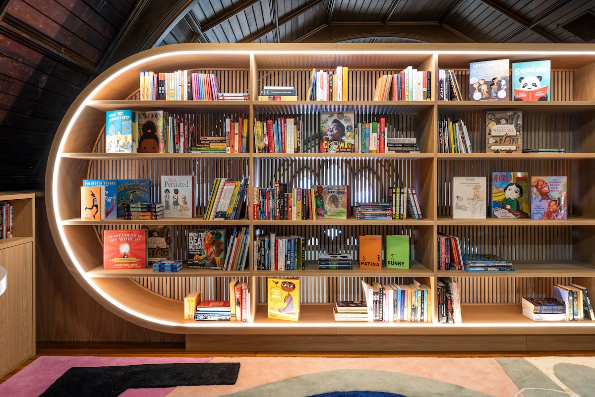 Children's Library Architecture by MKCA
