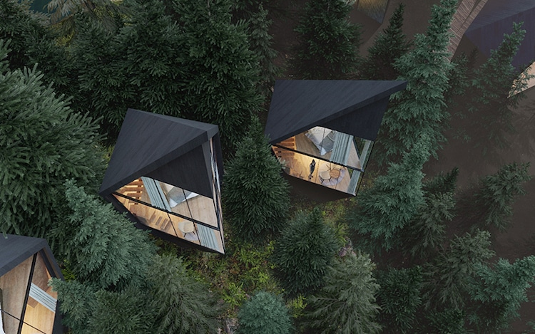 Peter Pichler Architecture - Tree Houses