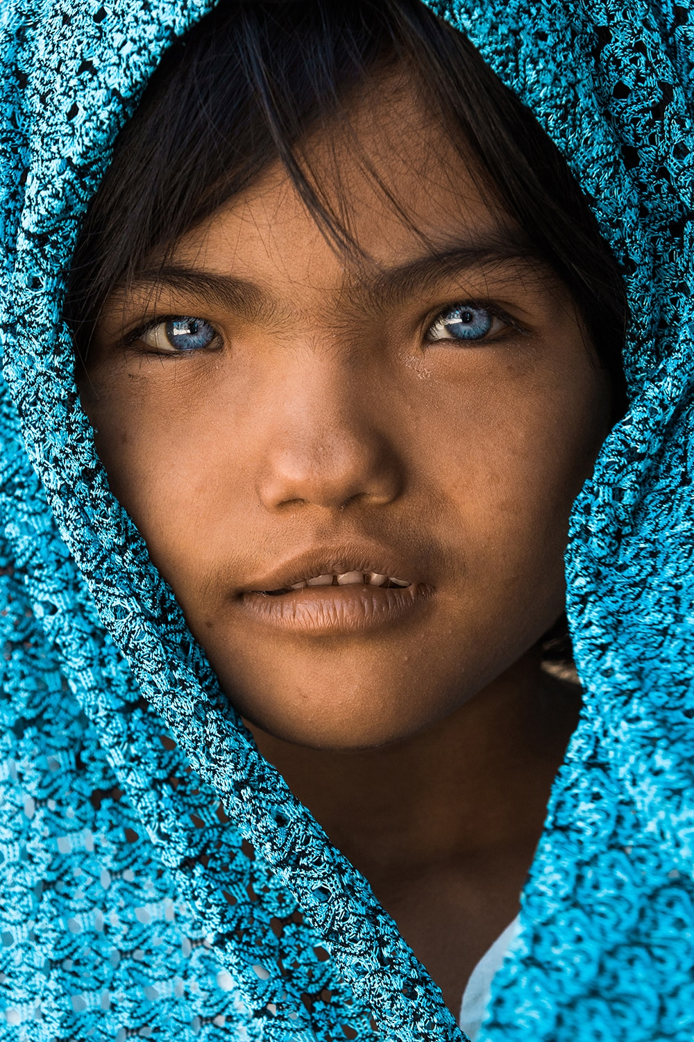 Child from the Cham Ethnic Tribe in Vietnam