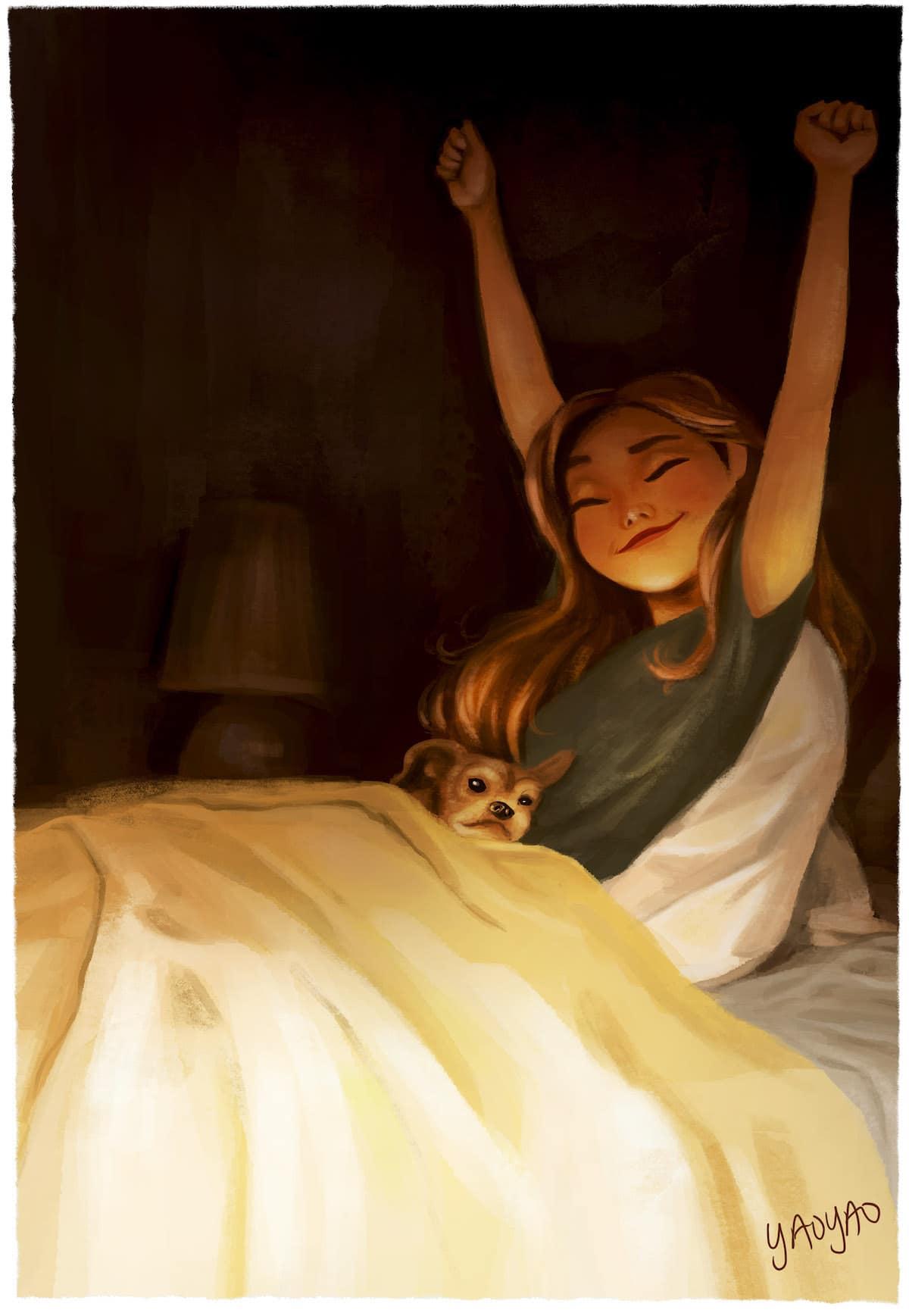 Vida con un perro Yaoyao Ma Van As