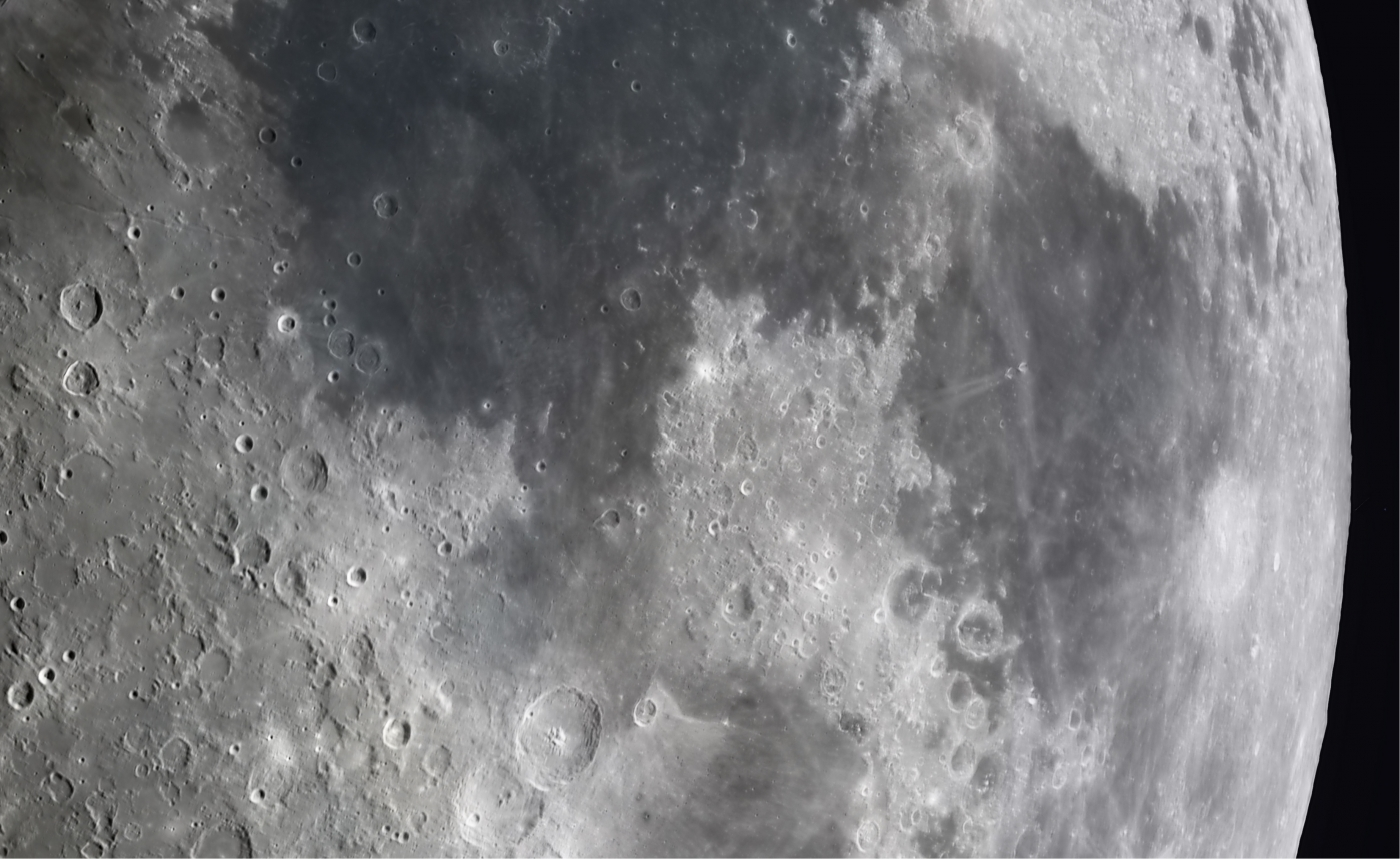 High Resolution Moon Photo by Andrew McCarthy