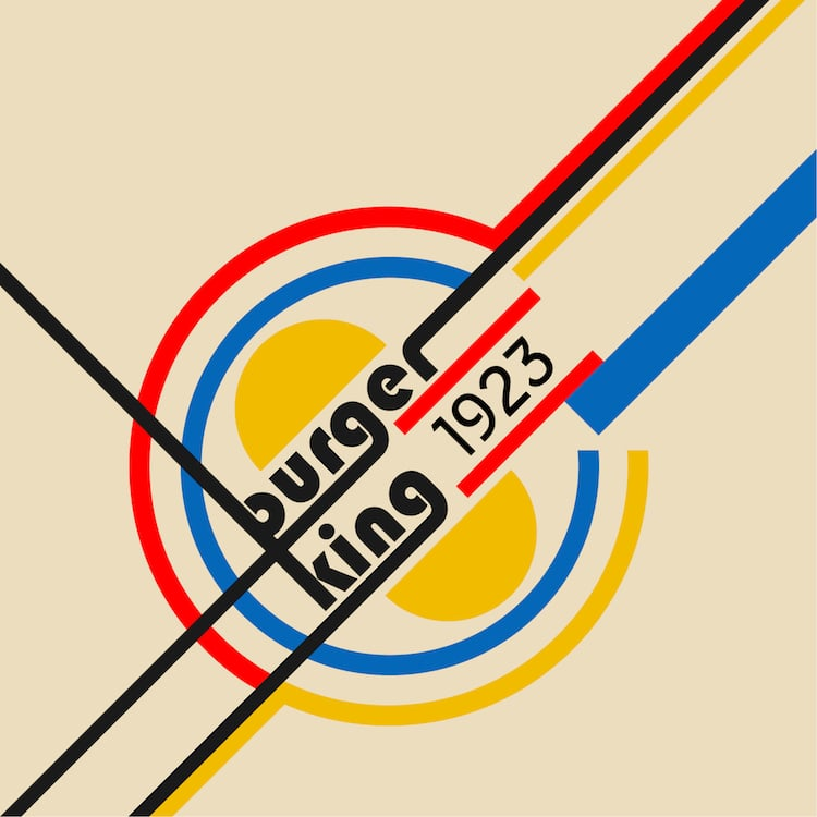 Bauhaus Logos Bauhaus estilo bauhaus aniversario